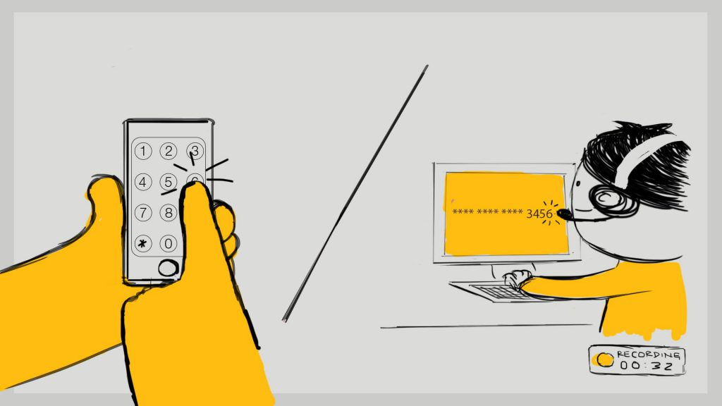 Semafone Animation Storyboard